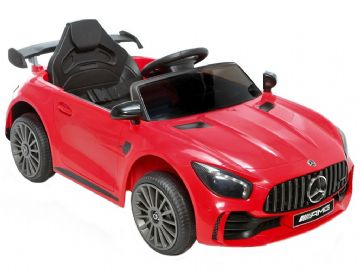 Mercedes Benz AMG GTR Official 12v Electric Ride on Car Red with Remote Control